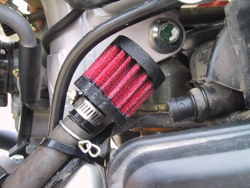 Фильтр картерных газов (сапун своими руками. DRIVE 2)