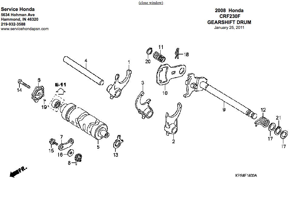 Crf230f Transmission    Shifting Issues  230 F  L