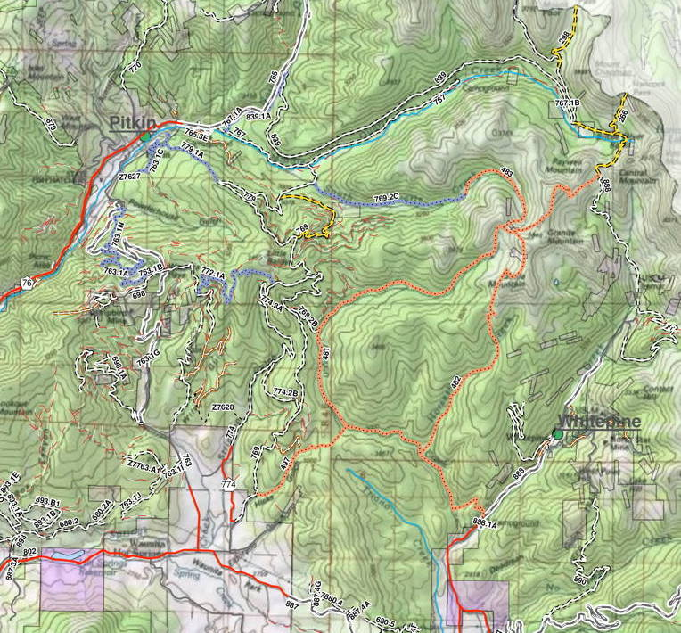 Taylor Park Colorado Map.Riding Up Horseshoe Trail Taylor Park Co Adventure Rider