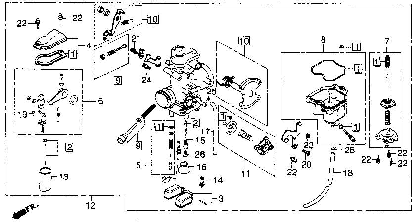keihin carburetor parts diagram
