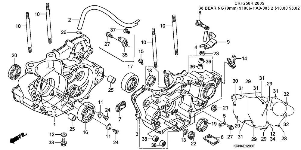 2007 honda Crf250 Manual pdf